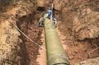 Đường ống nước sông Đà tiếp tục gặp sự cố