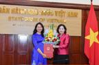 Bà Lê Thị Thúy Sen được bổ nhiệm Vụ trưởng Vụ truyền thông NHNN