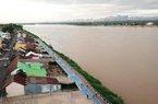 Tin mới: Nước sông Mê Kông đang lên nhanh, dâng cao 60-70cm/ngày