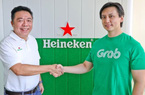 """""""Cú bắt tay"""" bất ngờ giữa Heineken và Grab ở Đông Nam Á"""
