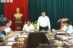 Thứ trưởng Trương Quốc Cường khảo sát NK dược liệu tại cửa khẩu