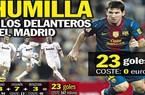 Một mình Messi chấp cả hàng công Real