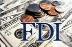 FDI giảm 22,4%