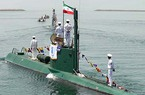 """Iran hạ thuỷ tàu ngầm nội địa """"khủng"""" nhất"""