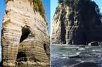 """Đá Voi nổi tiếng của New Zealand mất """"vòi"""" sau động đất"""