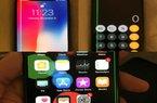 NÓNG: Màn hình iPhone X có vệt sáng lạ, nghi lỗi phần cứng