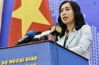 VN lên tiếng về tàu TQ tiếp tục xâm phạm vùng đặc quyền kinh tế