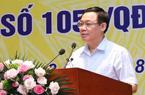 """PTT Vương Đình Huệ: """"Tái cơ cấu NH khó hay dễ, các đồng chí cứ điều hành thì biết"""""""