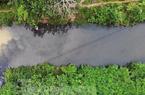 Bắt được đối tượng thứ 3 đổ trộm dầu thải ra nguồn nước sông Đà