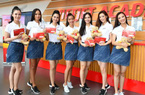 Thí sinh Hoa hậu Hoàn vũ Việt Nam 2019 khám phá học viện hàng không Vietjet