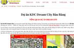 Địa ốc Đất Vàng 'vẽ' dự án ma Dream City để lừa bán cho khách hàng?