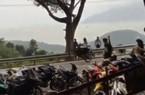 Xử phạt 3 thanh niên bốc đầu xe gây náo loạn đèo Hải Vân