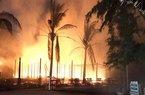 Quảng Nam: Hỏa hoạn trong đêm, một nhà hàng bị thiêu rụi