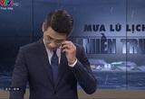BTV của VTV nén khóc, xin lỗi trên sóng trực tiếp khi dẫn về mưa lũ miền Trung, khán giả nói gì?