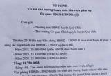Tờ trình xin thanh toán 81 triệu đồng tiền rượu: Huyện Quỳ Châu lên tiếng