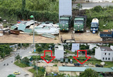 Quảng Ngãi: Dự án siêu thị ở khu đất vàng qua 3 năm thành nơi đậu xe, chứa vật liệu phế thải