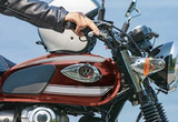Kawasaki W800 2022 vẫn giữ phong cách đặc trưng