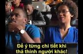 Video clip lớp học tán gái cực bá đạo của anh da đen