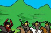 Truyện tranh Tam quốc hài (22): Trương Phi nóng như... Trương Phi