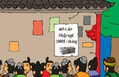 Con Cat Diễn Nghĩa: Trương Phi đọc Tam Quốc Hài trên báo Làng Cười