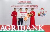 """Agribank Phú Yên: Trao thưởng Chương trình khuyến mại """"Mở tài khoản - Nhận quà lớn cùng Agribank"""""""