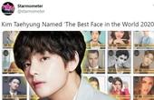 Nam thần của BTS xuất sắc giành top 1 Gương mặt điển trai nhất thế giới năm thứ hai liên tiếp
