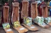 Video: Cận cảnh lô ma túy 200 kg giấu trong tượng gỗ