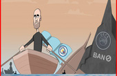 """Dân mạng chế ảnh Pep tìm đường """"chuồn"""" khỏi con tàu đắm Man City"""