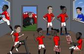 """Ảnh chế MU và Arsenal vẫn đang """"loay hoay"""" trên thị trường chuyển nhượng"""