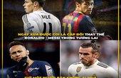 """Ảnh chế Neymar và Gareth Bale - """"hai con người, một số phận"""""""
