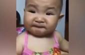 """Trải nghiệm """"chua cay"""" lần đầu trong đời của bé khiến người lớn cười ngặt nghẽo"""