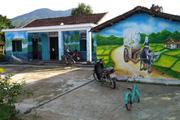 Rực rỡ những ngôi làng Bích Họa ở vùng biên giới, hải đảo