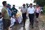 Hà Nội lên phương án sẵn sàng di dời 14.000 hộ dân vùng lụt Chương Mỹ