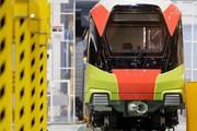 Ra mắt đoàn tàu đầu tiên của tuyến metro Nhổn - ga Hà Nội