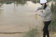 Khẩn trương xử lý sự cố bùn thải hồ điều hòa Cửa Nam