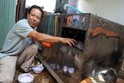 Bác nông dân sáng chế ròng rọc thoát hiểm nhà cao tầng và máy rửa chén