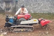 """Tận mắt thấy chiếc máy nông nghiệp """"15 trong 1"""" không người lái độc nhất vô nhị ở Việt Nam"""