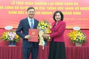 Bổ nhiệm Giám đốc Ngân hàng Nhà nước Chi nhánh tỉnh  Quảng Ninh