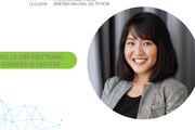 Cựu CEO Go-Viet Lê Diệp Kiều Trang phiêu lưu với quỹ đầu tư vào startup