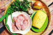 Tràng lợn xào dứa, món ngon cho bữa tối