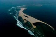 """Xuất hiện """"đảo khủng long"""" tại biển Hội An"""