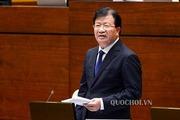 Phó Thủ tướng Trịnh Đình Dũng báo cáo Quốc hội 6 vấn đề nóng ngành xây dựng