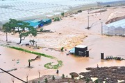 Ngập lụt diện rộng bất ngờ tại vùng cao nguyên