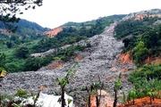 Bãi rác Cam Ly đổ ào xuống thung lũng trồng rau ở Đà Lạt