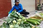 Giá rau xanh tăng vọt sau hai ngày mưa rét