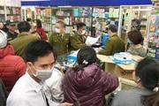 Dịch Corona: Không để bảng giá bán khẩu trang, 5 quầy thuốc bị lập biên bản