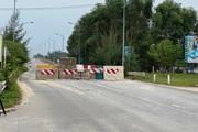 """Quảng Ngãi: Hiểm họa tai nạn giao thông từ """"bức tường"""" chắn phía tây cầu Trà Bồng"""