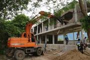 Huyện Mai Châu (Hòa Bình): Thông tin vụ cưỡng chế nhà xây dựng trên hành lang giao thông