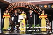 BIDV được vinh danh Doanh nghiệp phát triển bền vững năm 2020