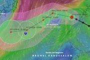 Áp thấp nhiệt đới đi vào Biển Đông, sắp mạnh thành bão số 14